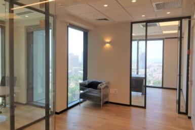 """162 מ""""ר משרד להשכרה במגדל רסיטל החדש 2 חדרים"""