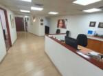 """200 מ""""ר משרד מטופח בבנין בוטיק במסגר,  עמדת קבלה ומסדרון"""
