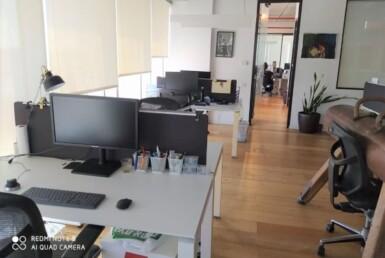 """משרד 250 מ""""ר באלקטרה סיטי, מטופח, אופן ספייס"""