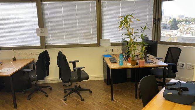 """500 מ""""ר משרדי היי טק מאובזרים בלב ת""""א, חדר עבודה"""