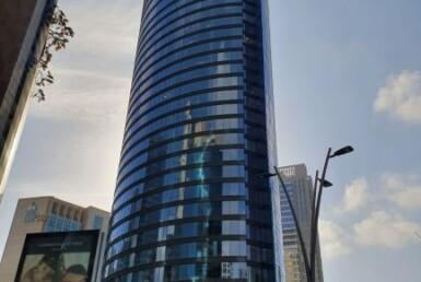 """260 מ""""ר משרד חדש במגדל ספיר החדש, חוץ"""