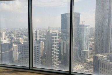 """460 ש""""ח משרדים חדשים להשכרה במגדל ספיר, נוף לים"""