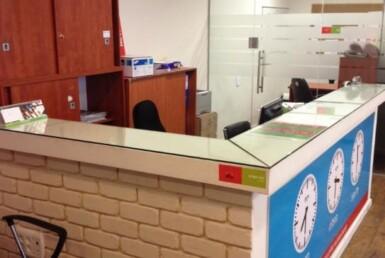 """140 מ""""ר משרד נדיר להשכרה בחשמונאים, קבלה"""