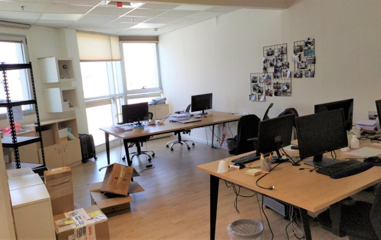 """135 מ""""ר משרד להשכרה מטופח במרכז הבורסה, א.ספייס"""