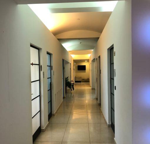 """300-800 מ""""ר משרד להשכרה בק. אריה, מסדרון 2"""