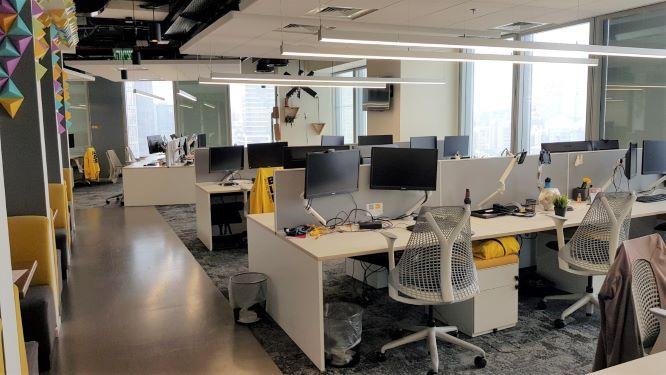 """750-1,500 מ""""ר משרדים במחיר מעולה, אופן ספייס"""