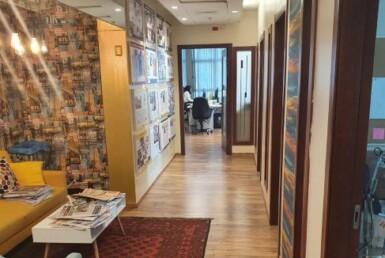 משרדים להשכרה קרובים לרכבת עזריאלי, מסדרון