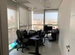 משרד מטופח להשכרה בוי טאואר, חדר עבודה