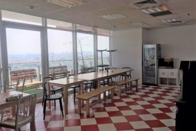 משרד להשכרה בבסר 3, רמה גבוהה, ניתן לחלוקה, חדר אוכל