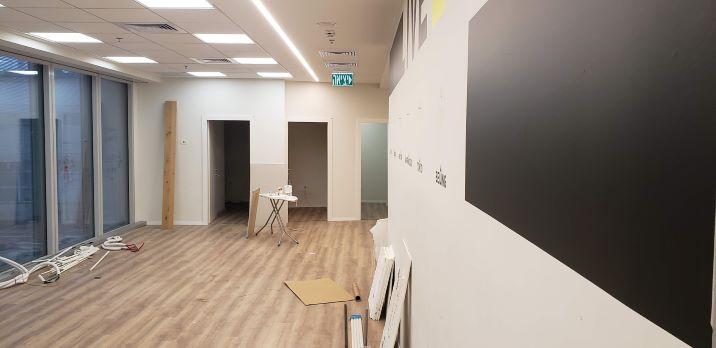 """490 מ""""ר משרדים חדשים באטריום בורסה, אופן ספייס"""