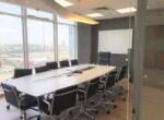 משרד מטופח להשכרה במגדל בסר היוקרתי, חדר ישיבות