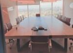 """1040 מ""""ר משרדים מפוארים להשכרה בבסר, חדר ישיבות"""