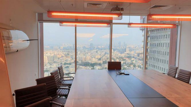 """1040 מ""""ר משרדים מפוארים להשכרה בבסר, ח. ישיבות+נוף"""