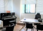 """450 מ""""ר משרד מטופח בבנין בוטיק בבורסה בר""""ג, חדר מוזיקה"""