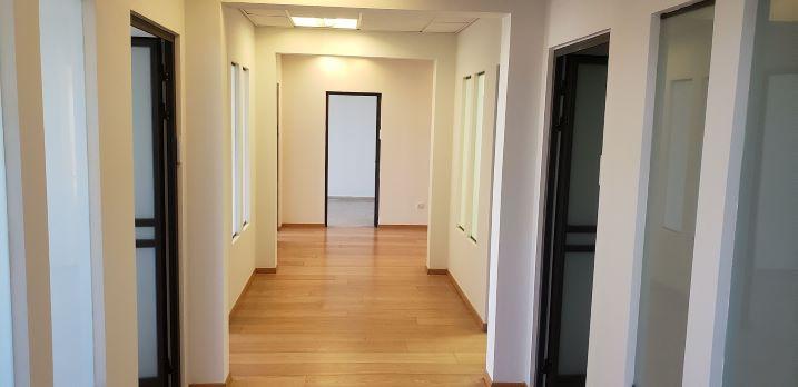 """540 מ""""ר משרד מושלם להשכרה במגדל בבורסה, מסדרון"""