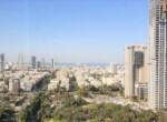 """540 מ""""ר משרד מושלם להשכרה במגדל בבורסה, נוף לים"""