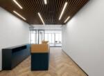 """240 מ""""ר משרד חדש לגמרי במתחם בסר, עמדת קבלה"""