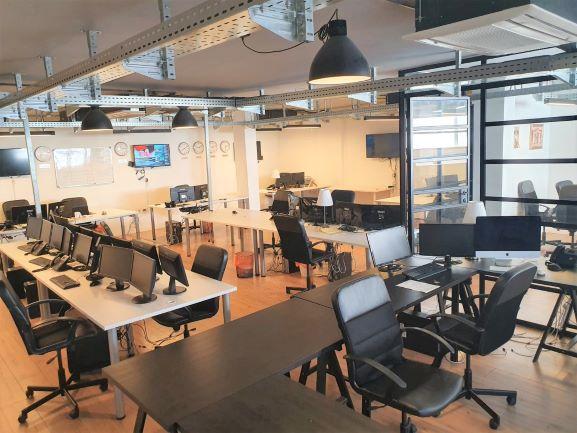 """משרדים להשכרה במרכז ת""""א מתאימים מאד להיי טק, אופן ספייס"""