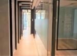 """1,650 מ""""ר קומה שלימה להשכרה במגדל חדש בבורסה, מסדרון"""