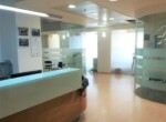 """312 מ""""ר משרדים להשכרה בשארית ישראל, מטופחים, עמדות קבלה והמתנה"""