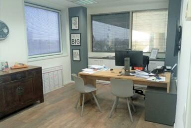 """230 מ""""ר משרדים מפוארים בבנין יוקרתי ומפואר בהרצליה פיתוח, חדר עבודה 2"""