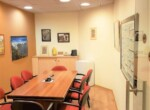 """233 מ""""ר משרד מטופח בצפון ת""""א, חדר ישיבות"""