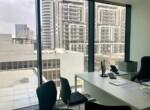 """40 מ""""ר משרד יפייפה במגדל הארבעה המשובח והחדיש, חדר עבודה"""