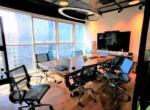 """200 מ""""ר משרד מטופח למכירה במגדל מרכזי במתחם בסר, חדר ישיבות"""
