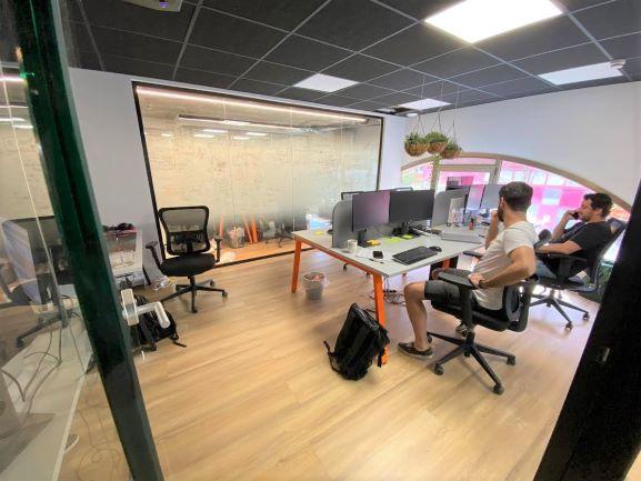 """250 מ""""ר משרד היי טק מובהק בלב ת""""א, חדר עבודה גדול"""