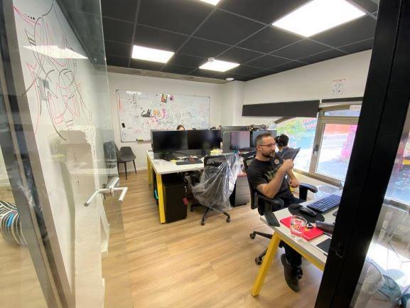 """250 מ""""ר משרד היי טק מובהק בלב ת""""א, חדר עבודה"""