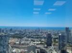 """145 מ""""ר משרד מטופח בגימור גבוה בק' גבוהה במגדל משה אביב, נוף לים"""