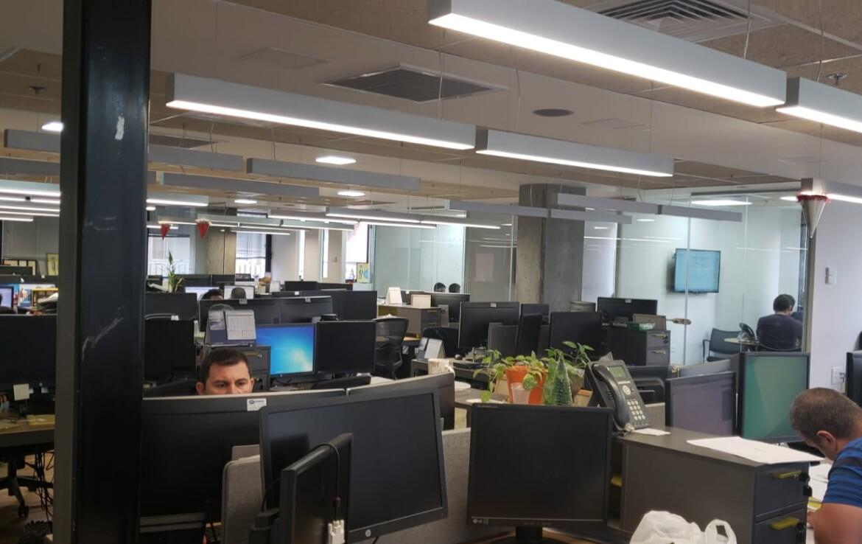 """890 מ""""ר, שני משרדים ברמת כניסה עם אופציה להתאמות ושיפורים, אופן ספייס"""