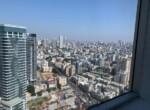 """265 מ""""ר משרד מטופח בגימור גבוה, בקומה גבוהה במגדל משה אביב, נוף דרום- מזרח"""