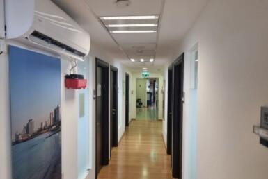 """400 מ""""ר משרד מטופח למקצועות חופשיים בלב ת""""א, מסדרון 1"""