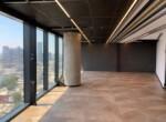 """375 מ""""ר משרד להשכרה, במגדל מרכזי בת""""א, ניתן לחלוקה ל- 125 -250 מ""""ר, ק' גבוהה, נוף לים, אופן ספייס 2"""
