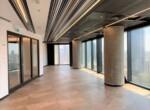 """375 מ""""ר משרד להשכרה, במגדל מרכזי בת""""א, ניתן לחלוקה ל- 125 -250 מ""""ר, ק' גבוהה, נוף לים, אופן ספייס"""
