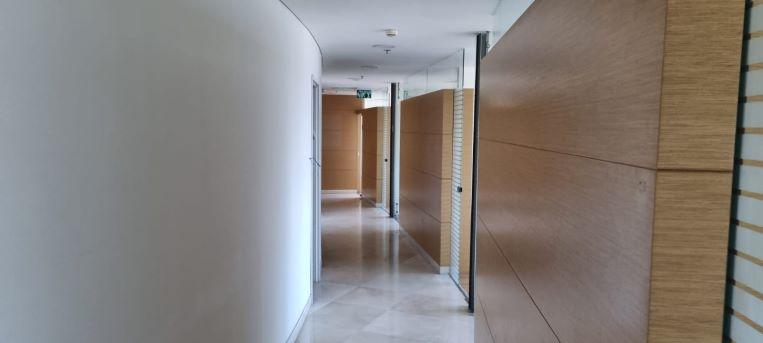 """483 מ""""ר משרד להשכרה במגדל מרכזי ליד בית משפט השלום ת""""א, מסדרון"""