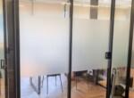 """110 מ""""ר משרד יפייפה להשכרה בבורסה בר""""ג, קירות ומחיצות זכוכית"""