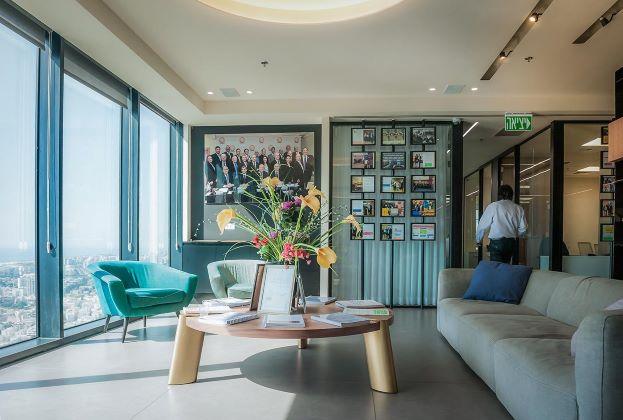 """860 מ""""ר משרדים להשכרה במידטאון ת""""א ק' גבוהה, חדר מנוחה"""